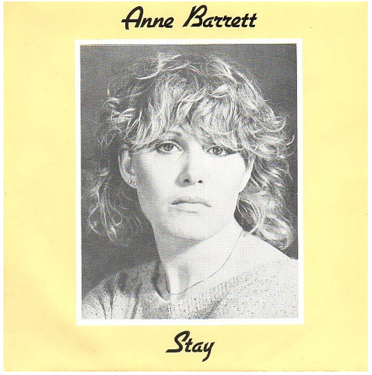 Anne Barrett 'Stay' EP Cover by Sally Hedges Greenwood