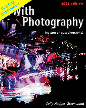 With Photography - not just an autobiography book jacket