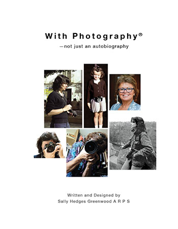 Book Jacket for With Photography - Not Just An Autobiography