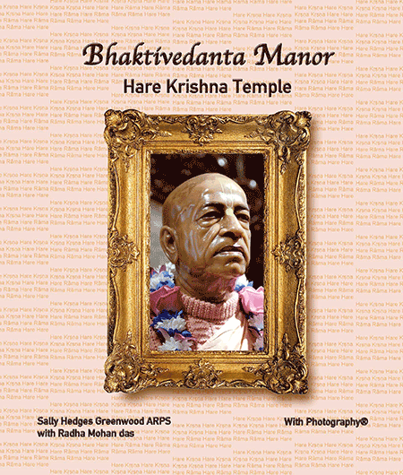 Bhaktivedanta Manor, Hare Krishna Temple With Photography Book