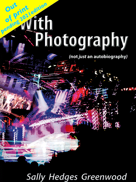 WithPhotography First Edition by Sally Hedges Greenwood Book Cover