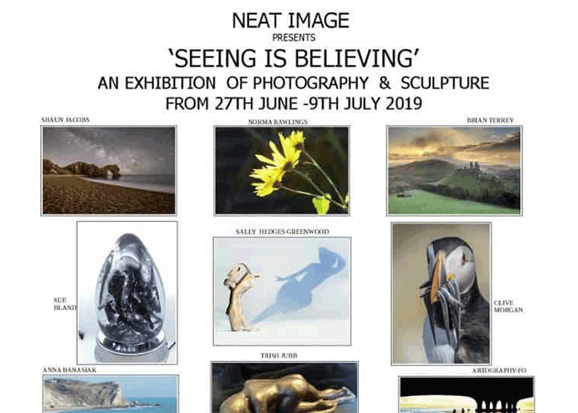 Seeing is Believing Exhibition Poster