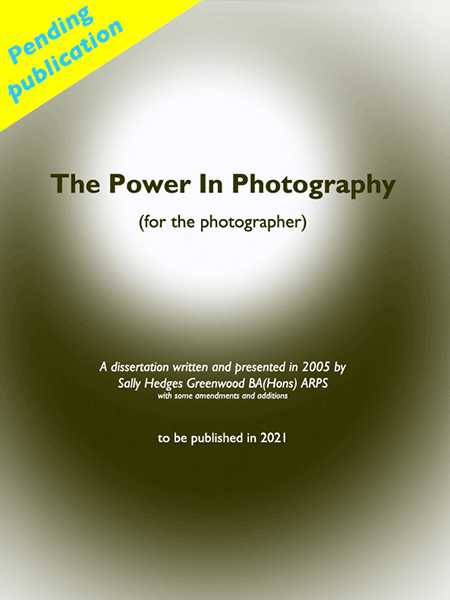 The Power in Photography Book Jacket