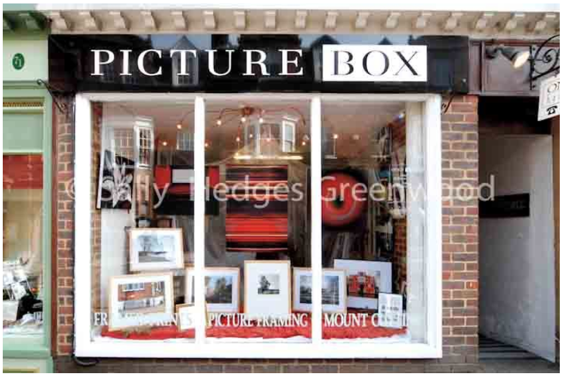 Picture Box Gallery with Sally Hedges Greenwood Exhibition