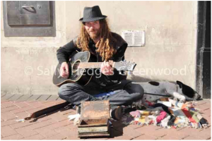 The Street Musician – Bournemouth, Dorset 2013